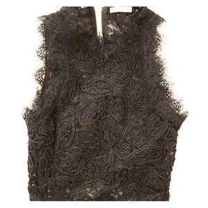 Adorable Zara Lace Crop Top Size XS